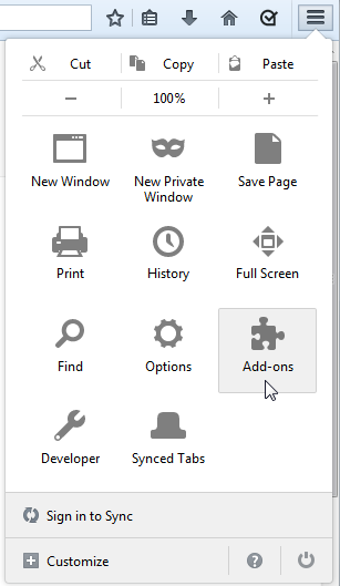 Install, Uninstall, or Update Acrolinx for Firefox - Firefox